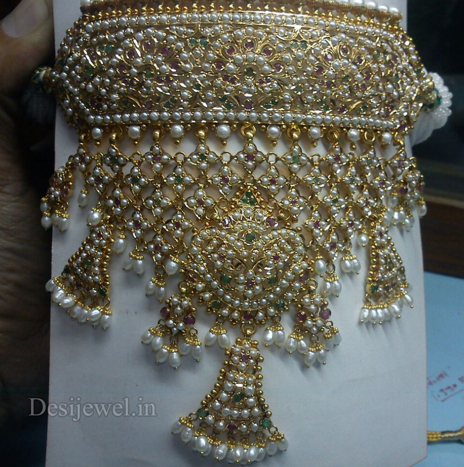 Marwadi Rajasthani Desi gold Gala-Aad And Weight is 55-60 gm