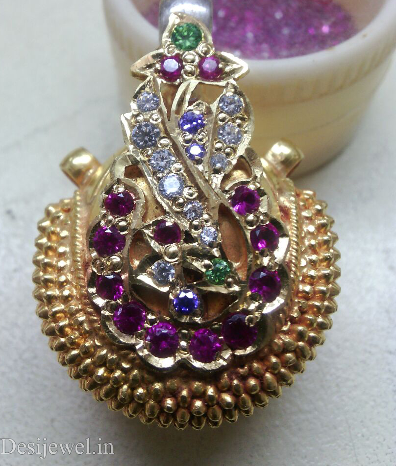 Rajasthani Jewellery Desi Bor Design in Jodhpur with weight of 7 GM