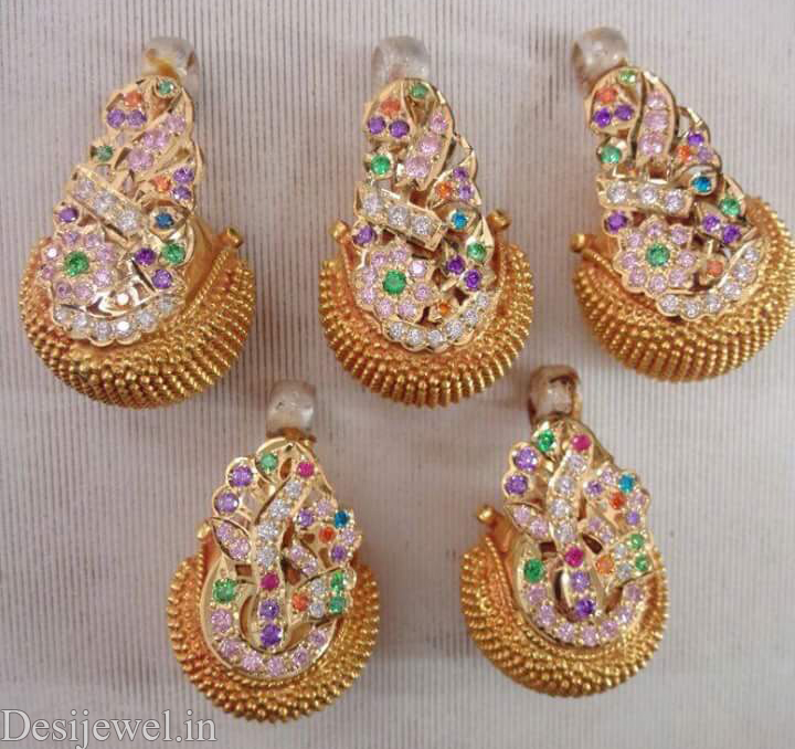 Rajasthani Jewellery Desi Bor Design in Jodhpur with weight of 8-10 GM