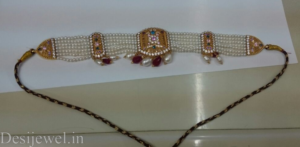 Rajasthani Jewellery Desi Chick Set  in Jodhpur with weight of 18-20 GM