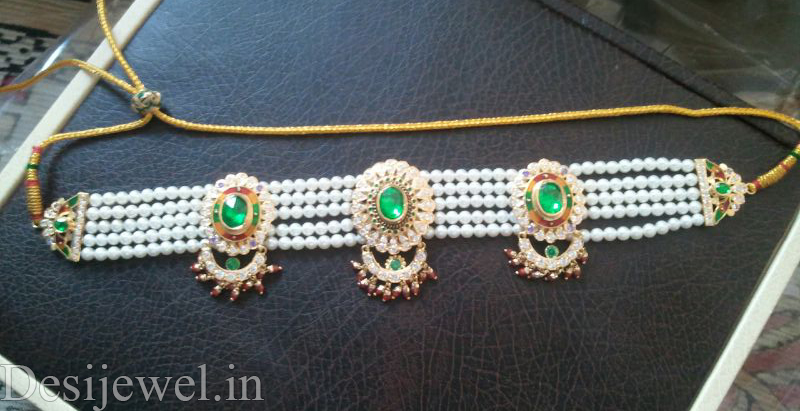 Rajasthani Jewellery Desi Chick Set  in Jodhpur with weight of 15-16 GM