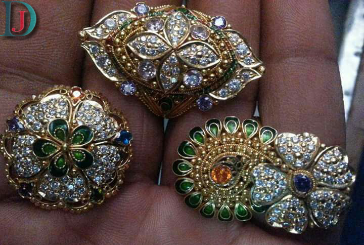 Marwadi Rajasthani fancy gold Ladies-Ring