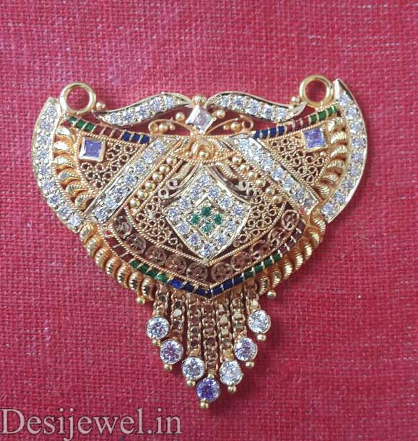 Marwadi Rajasthani fancy gold Mangalsutra And Weight is 10 gm