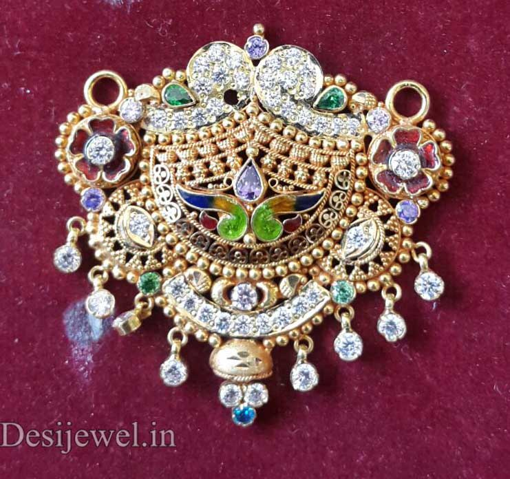 Marwadi Rajasthani fancy gold Mangalsutra And Weight is 9-10 gm