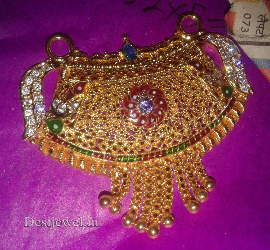 Marwadi Rajasthani fancy gold Mangalsutra And Weight is 10-12 gm