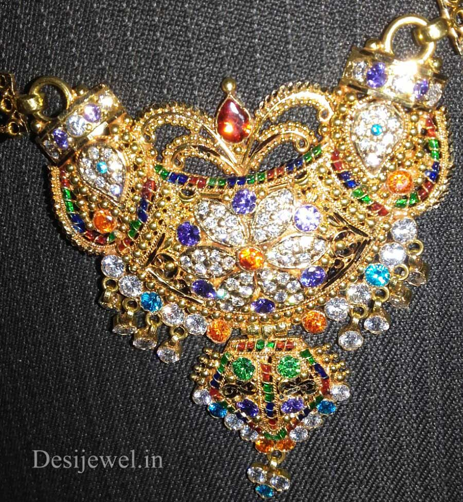 Marwadi Rajasthani fancy gold Mangalsutra And Weight is 13-15 gm