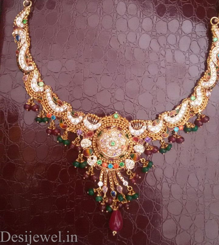 Marwadi Rajasthani fancy gold Necklace