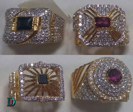 Rajasthani Gold Gents Ring Design in Jodhpur