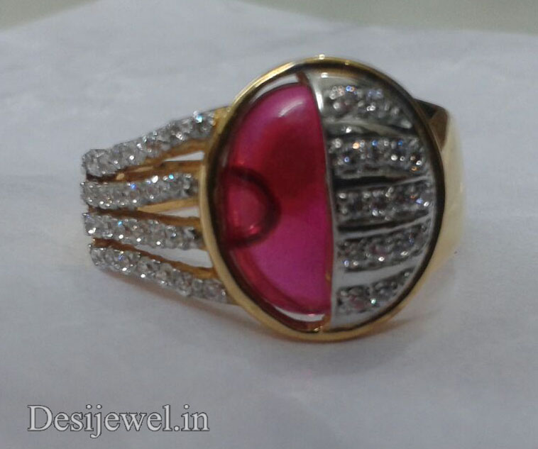 Rajasthani Gold Gents Ring Design  in Jodhpur with weight of 6 GM