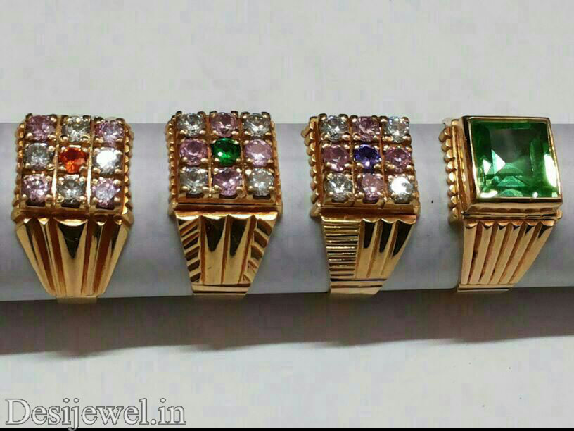 Rajasthani Gold Gents Ring Design  in Jodhpur with weight of 6-7 GM