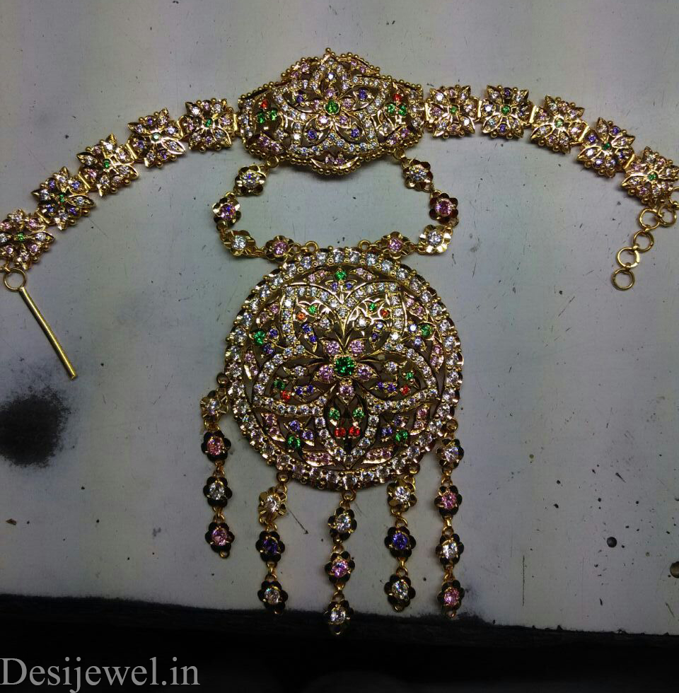 Marwadi Rajasthani Desi gold hathphol And Weight is 35-40 gm