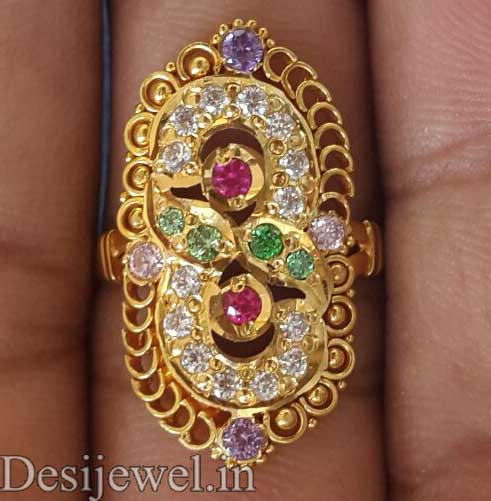 Marwadi Rajasthani Desi gold Ladies-Ring And Weight is 4-5 gm