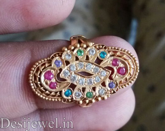 Marwadi Rajasthani Desi gold Ladies-Ring And Weight is 4 gm
