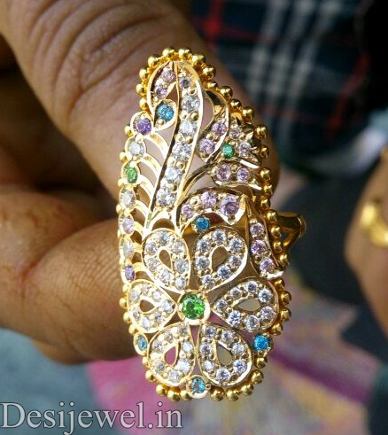 Marwadi Rajasthani Desi gold Ladies-Ring And Weight is 5-6 gm