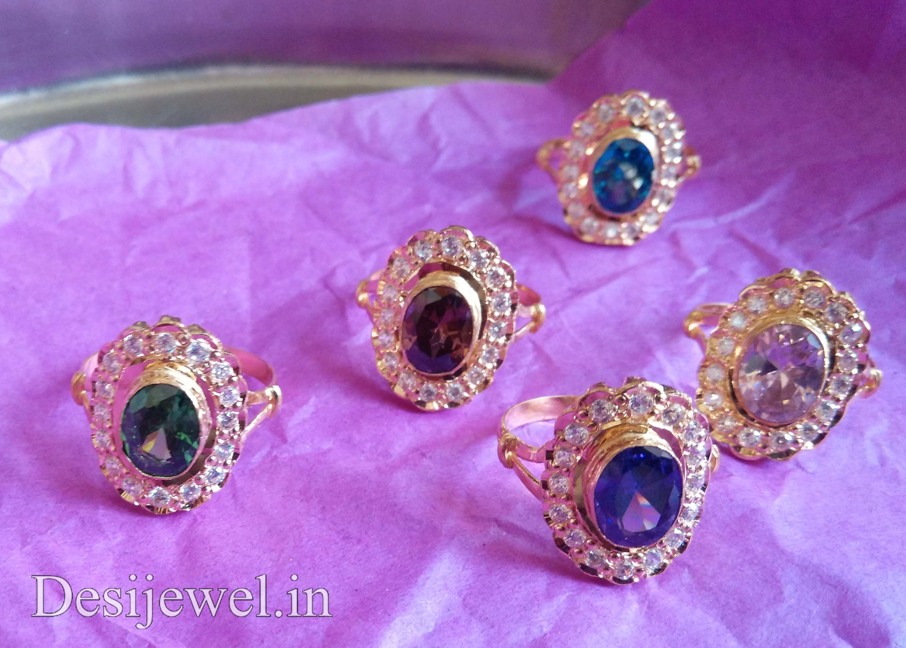 Rajasthani Gold Desi Ladies Ring Jewellery  in Jodhpur with weight of 5-6 GM