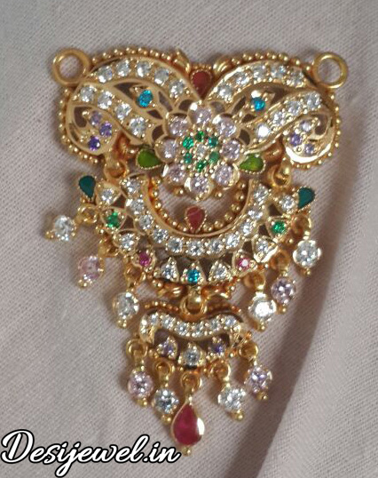 Marwadi Rajasthani Desi gold Mangalsutra And Weight is 9-10 gm