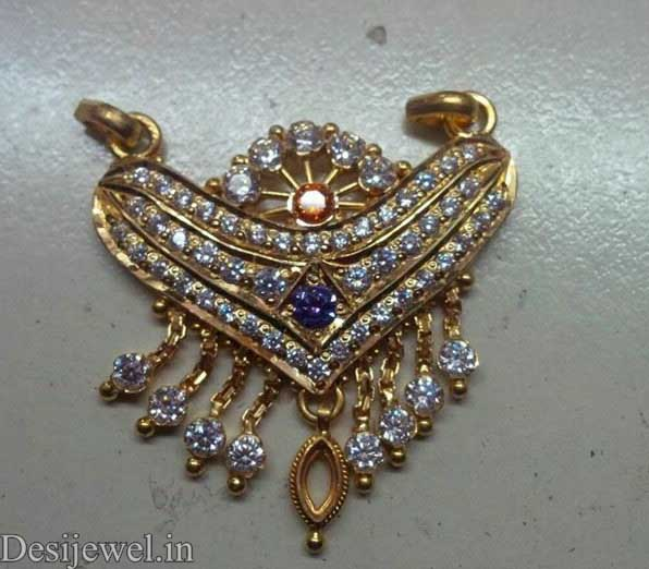 Rajasthani Gold Desi Mangalsutra Jewellery  in Jodhpur with weight of 7-9 GM