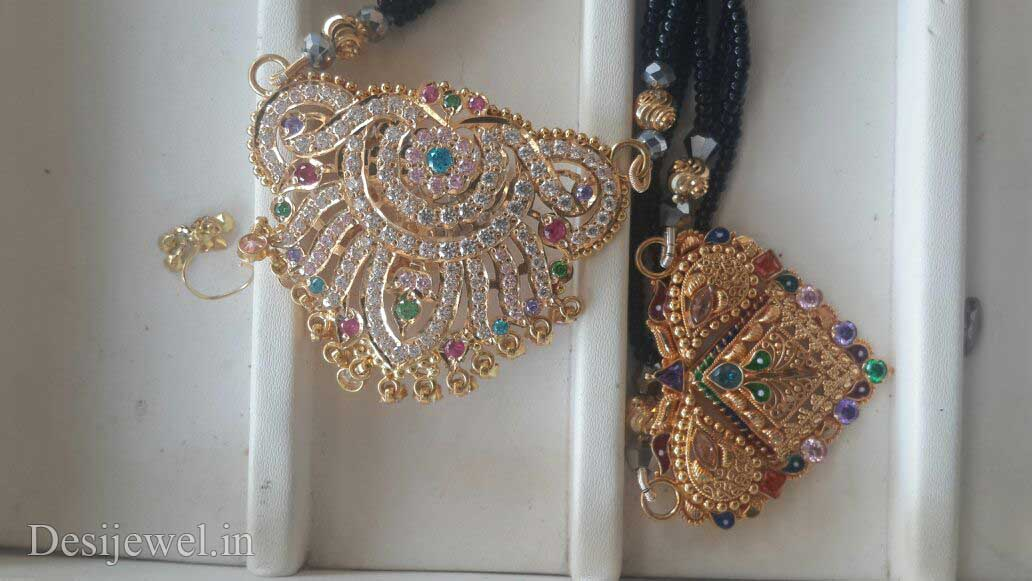 Rajasthani Gold Desi Mangalsutra Jewellery  in Jodhpur with weight of 11 GM