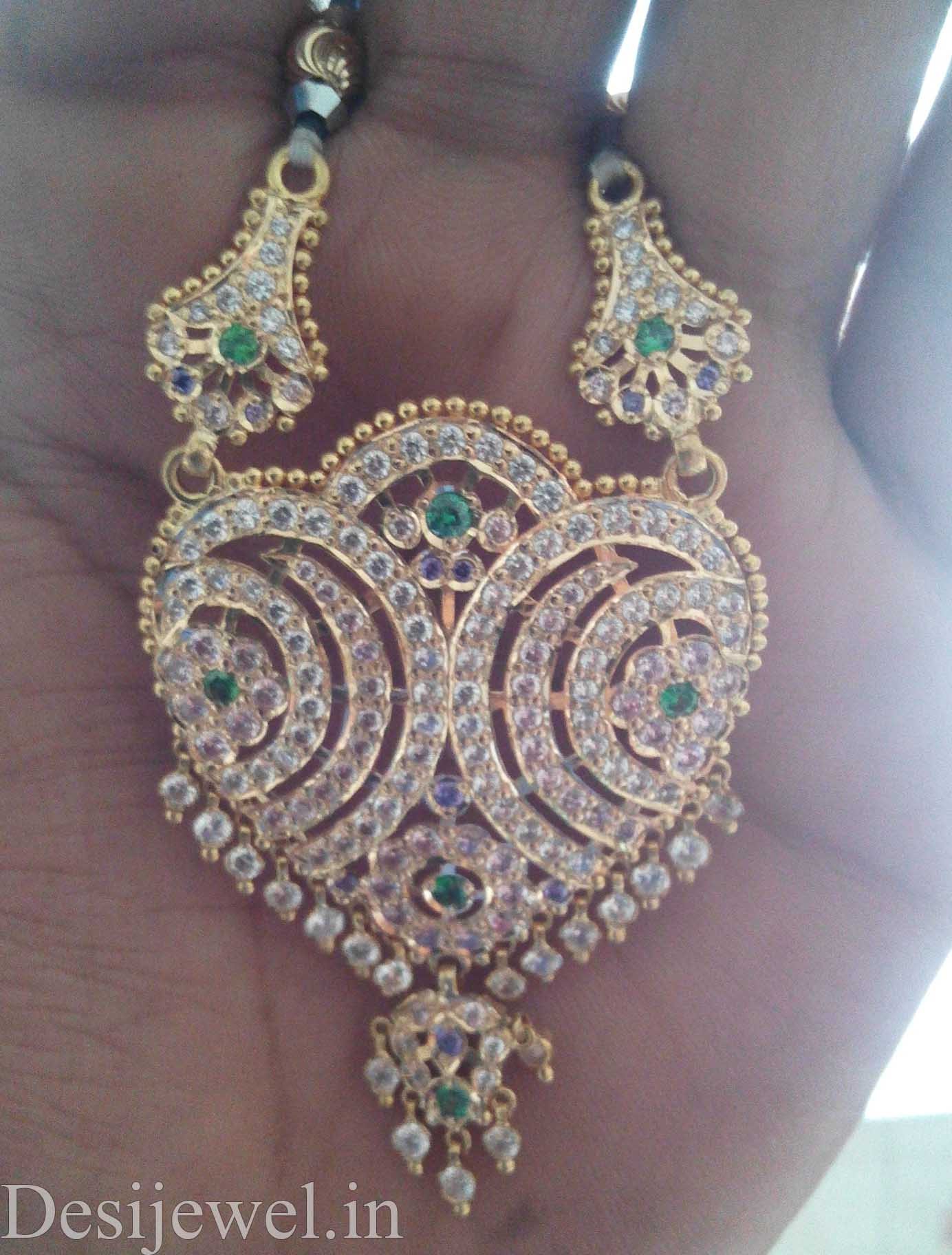 Marwadi Rajasthani Desi gold Mangalsutra And Weight is 13-15 gm