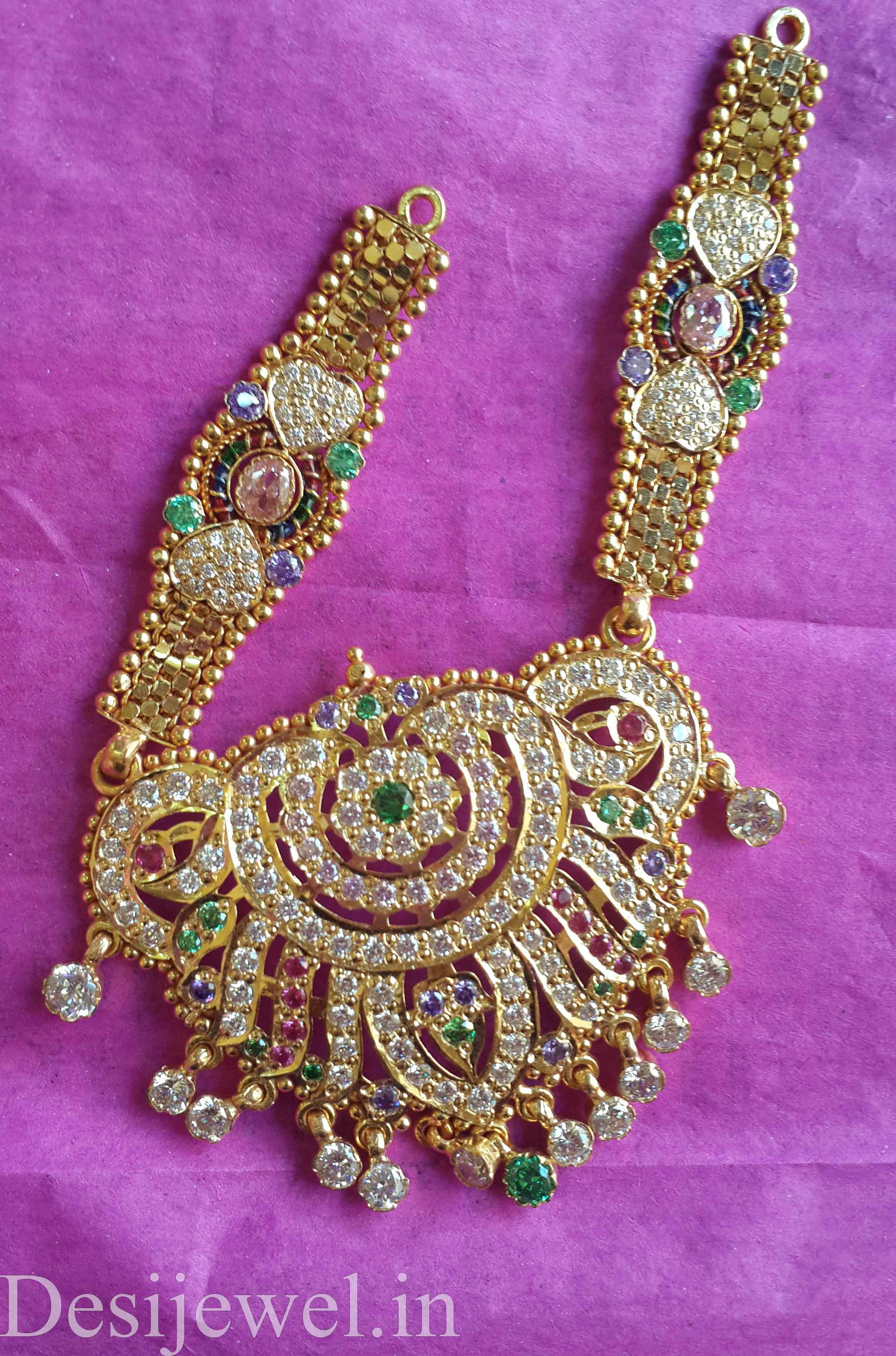 Marwadi Rajasthani Desi gold Mangalsutra And Weight is 10-12 gm