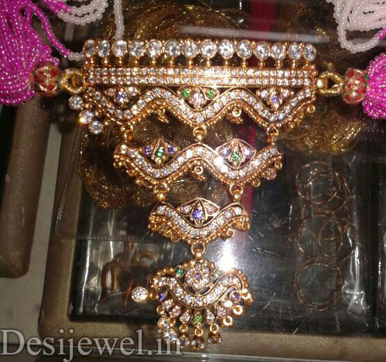 Rajasthani Gold Desi Mini Aad Jewellery  in Jodhpur