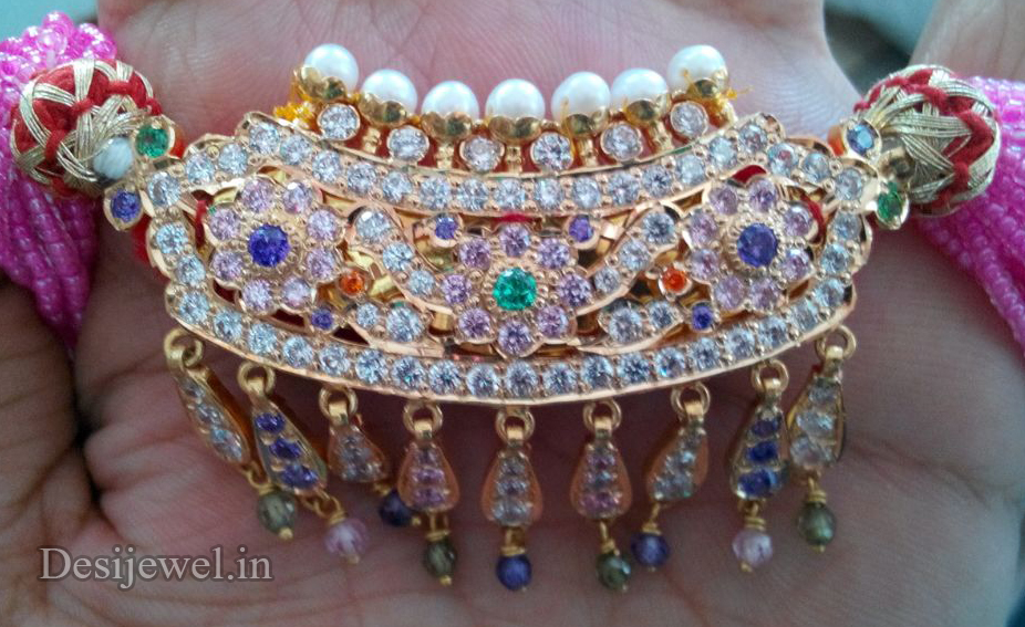 Marwadi Rajasthani Desi gold Mini Gala-Aad And Weight is 9-10 gm