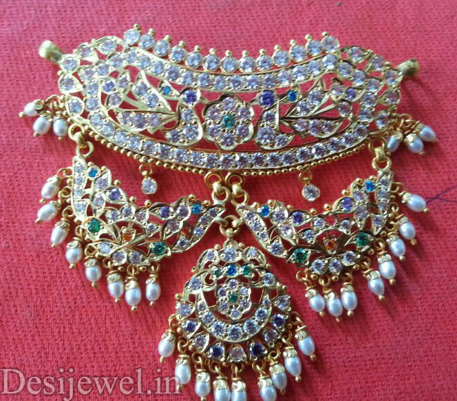 Rajasthani Gold Desi Mini Aad Jewellery  in Jodhpur with weight of 20-22 GM