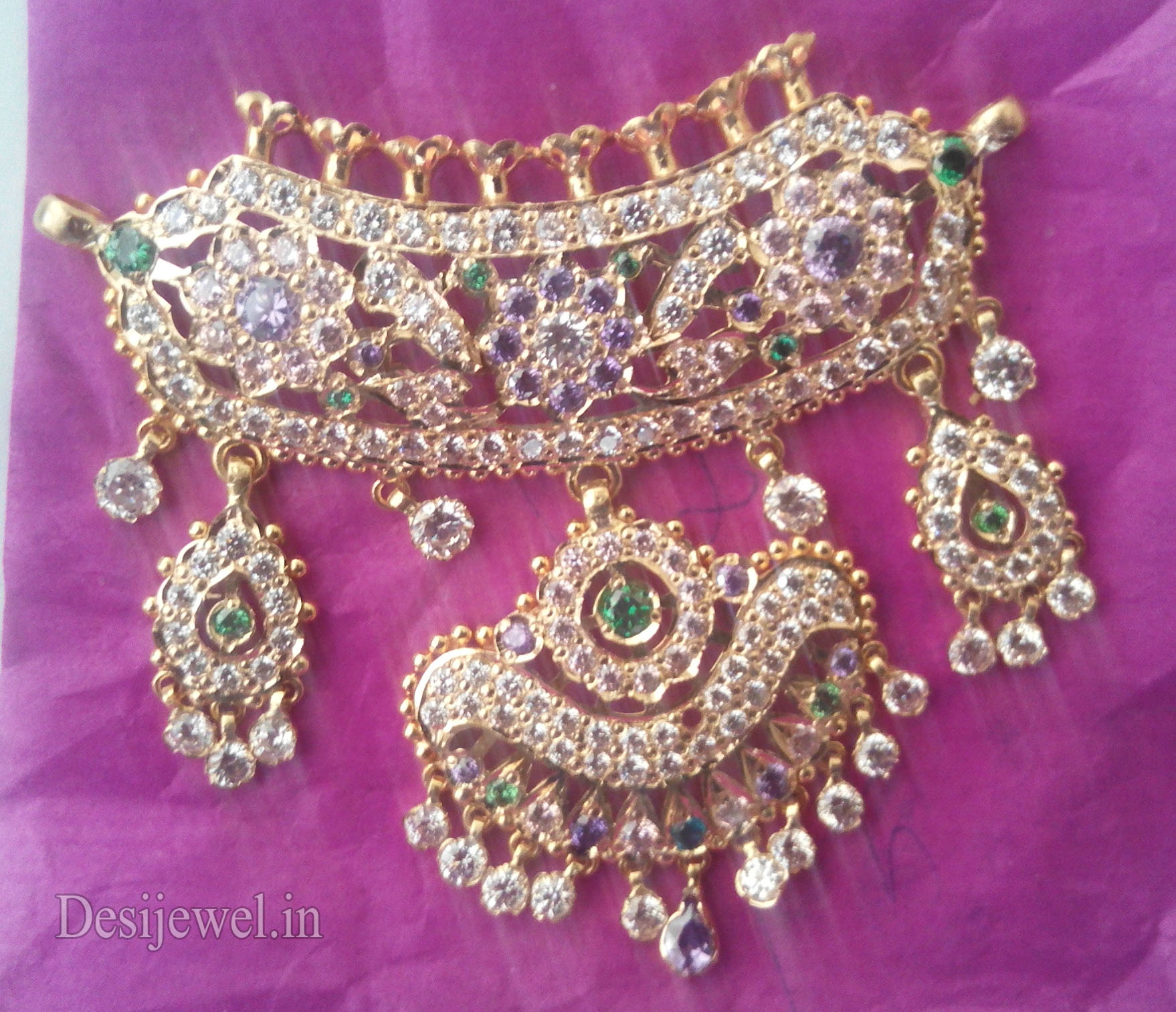 Marwadi Rajasthani Desi gold Mini Gala-Aad And Weight is 15-18 gm