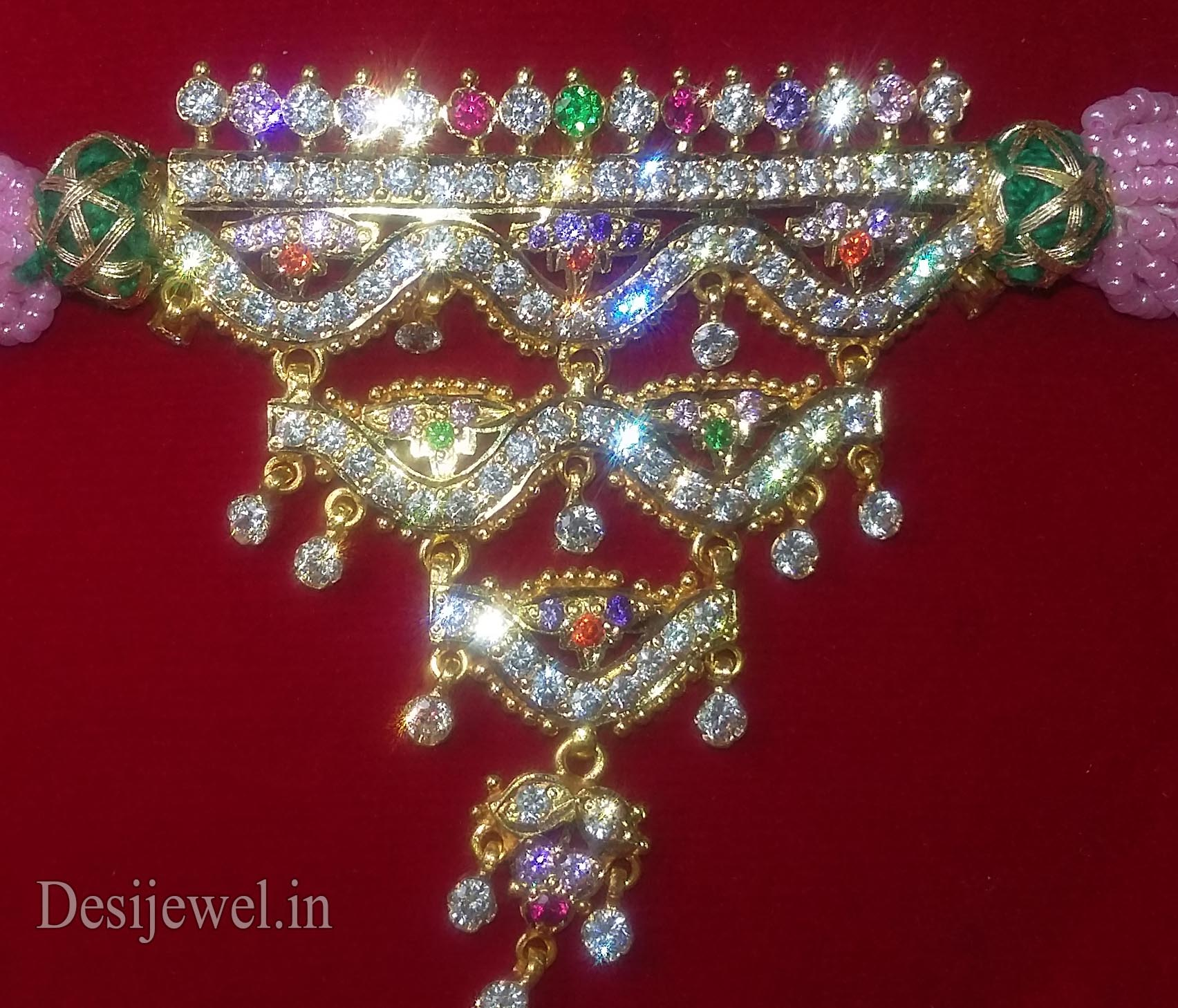 Marwadi Rajasthani Desi gold Mini Gala-Aad And Weight is 10-12 gm