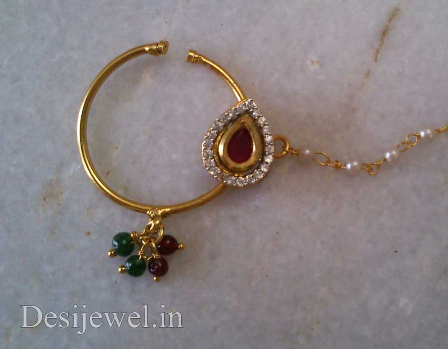 Rajasthani Gold Desi Nath Jewellery  in Jodhpur with weight of 5-7 GM