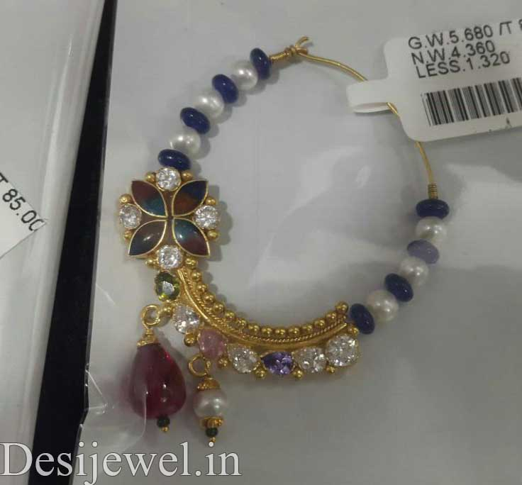 Rajasthani Gold Desi Nath Jewellery  in Jodhpur with weight of 4-5 GM