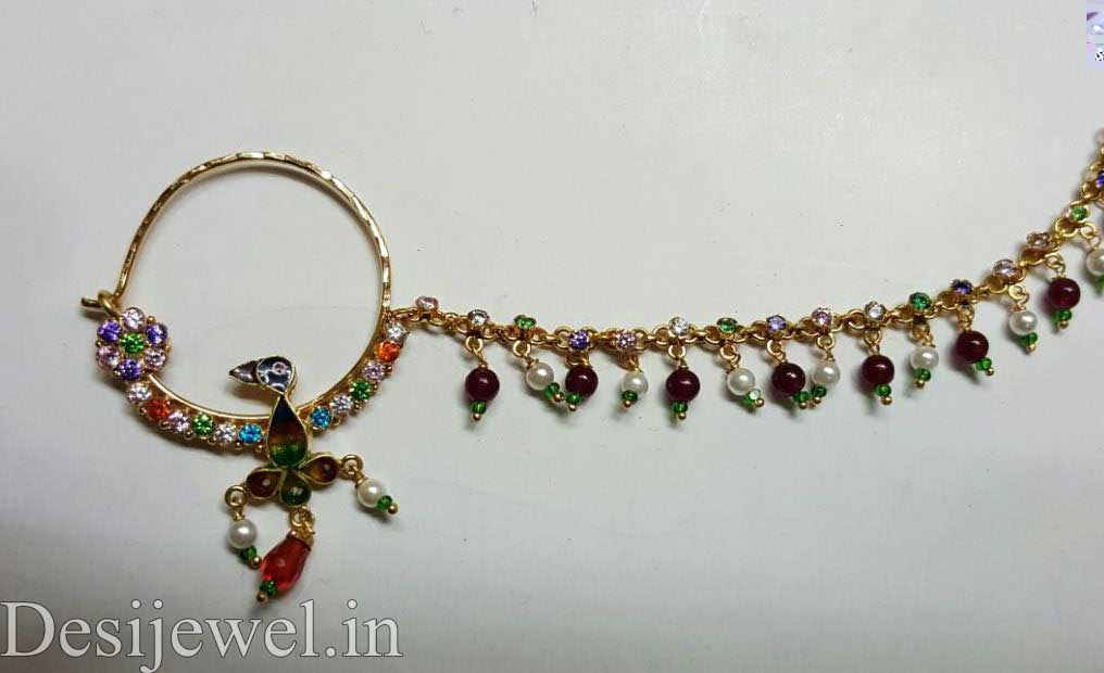 Rajasthani Gold Desi Nath Jewellery  in Jodhpur with weight of 4-9 GM