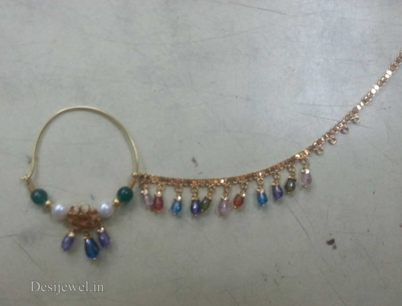 Rajasthani Gold Desi Nath Jewellery  in Jodhpur with weight of 3-9 GM