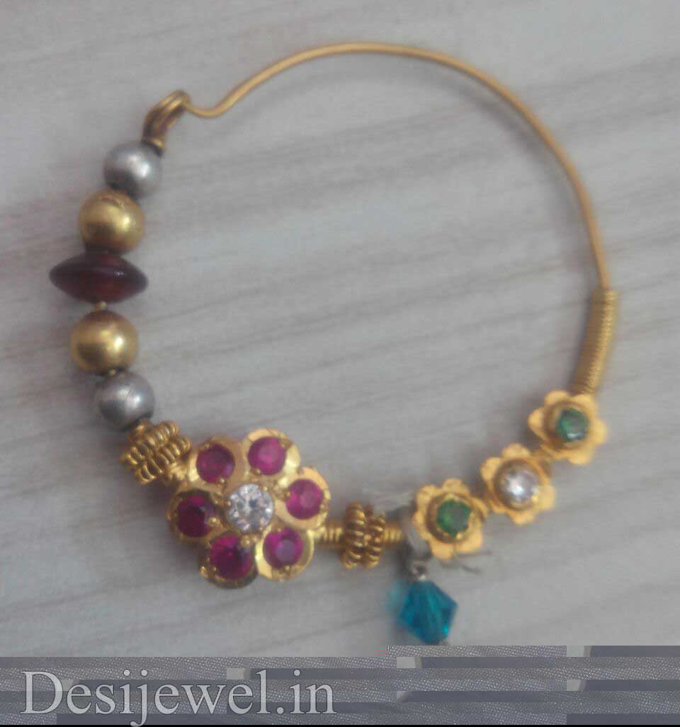 Rajasthani Gold Desi Nath Jewellery  in Jodhpur with weight of 4 GM