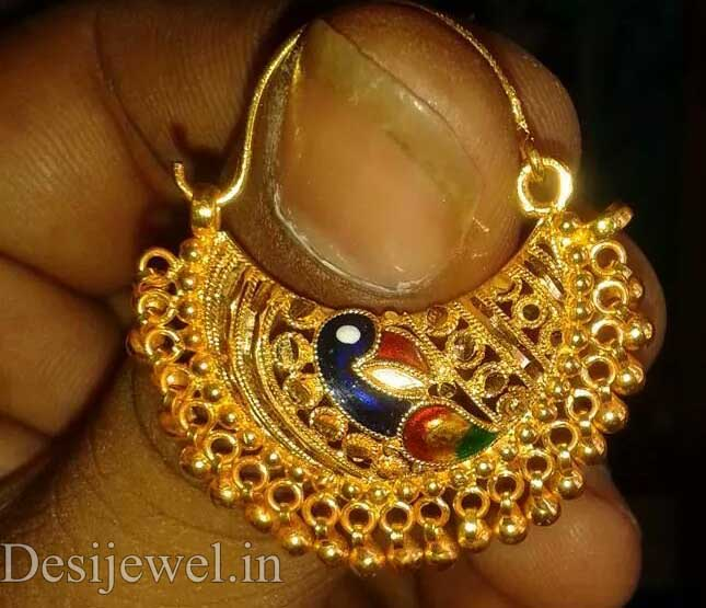 Rajasthani Gold Desi Nath Jewellery  in Jodhpur with weight of 6-8 GM