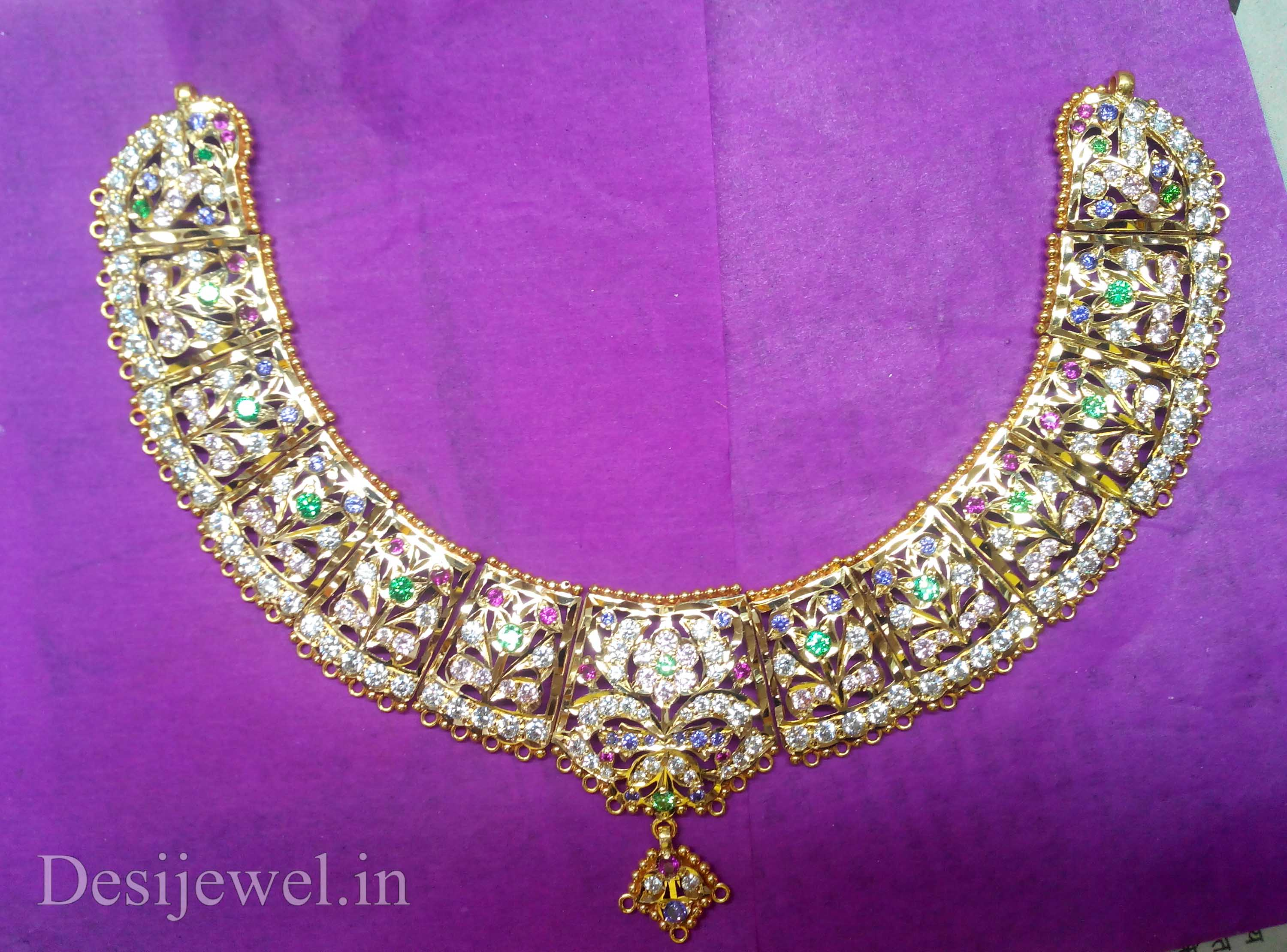Marwadi Rajasthani Desi gold Necklace And Weight is 40-42 gm