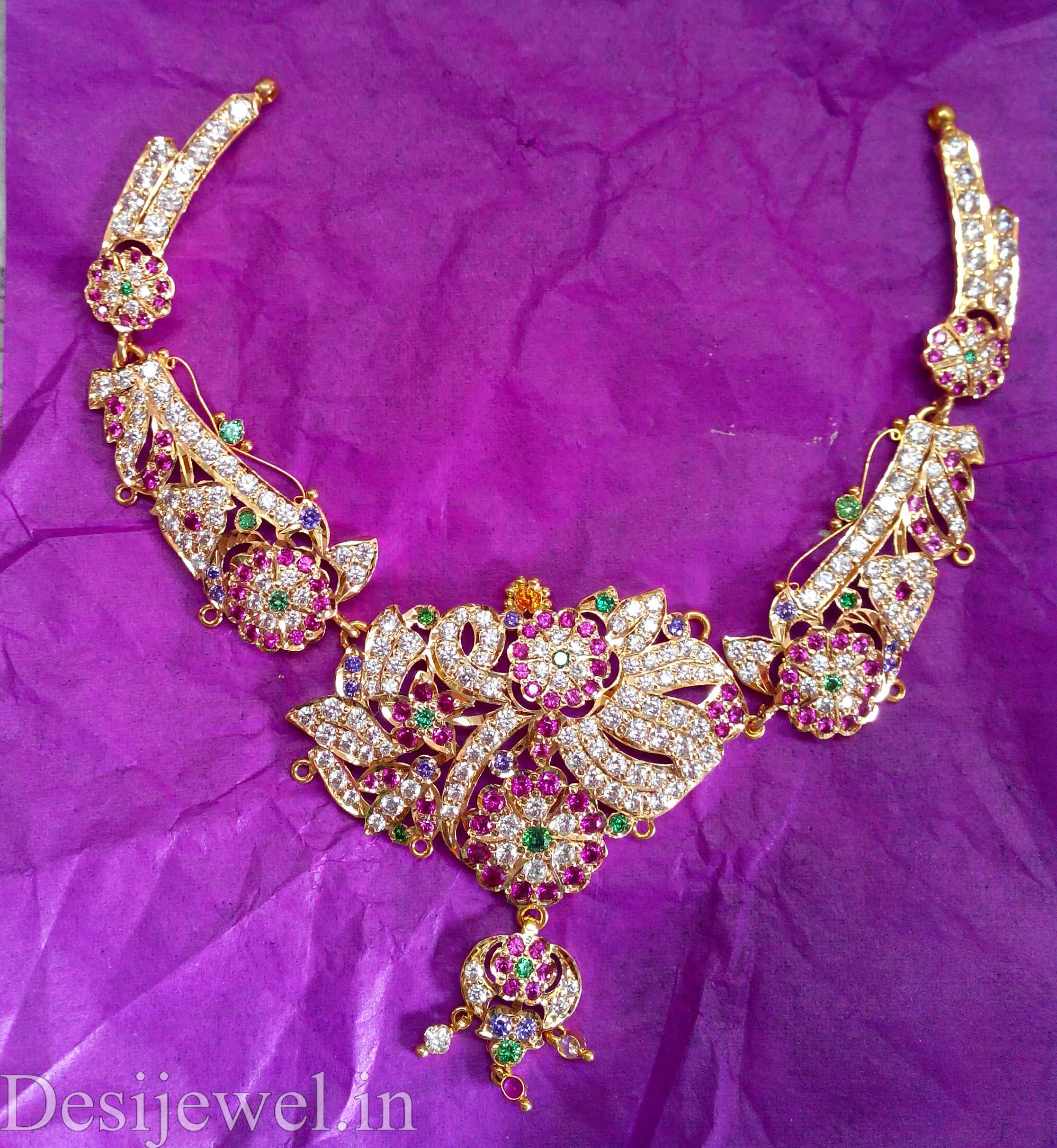 Marwadi Rajasthani Desi gold Necklace And Weight is 28-30 gm