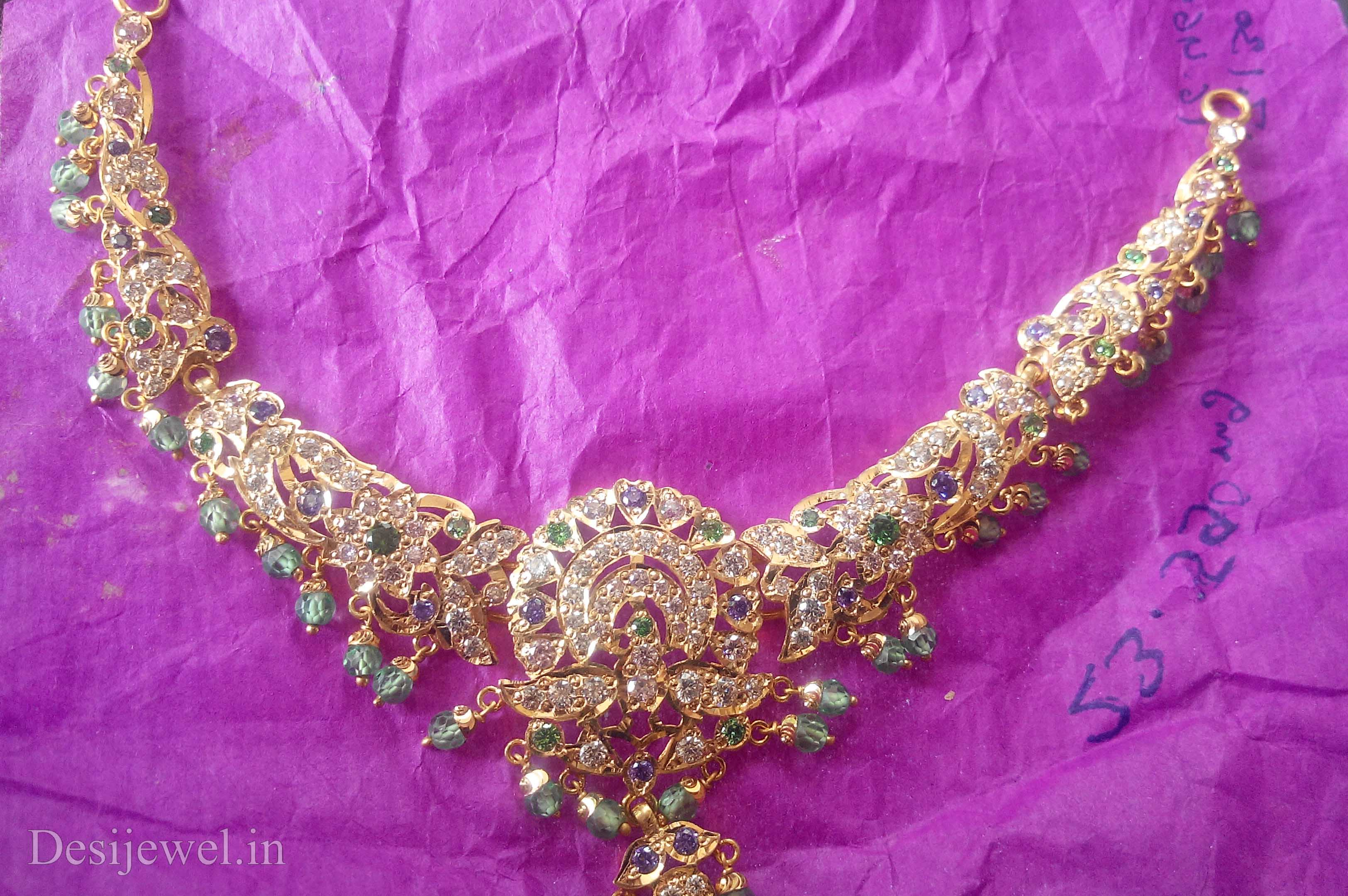 Marwadi Rajasthani Desi gold Necklace And Weight is 25-30 gm