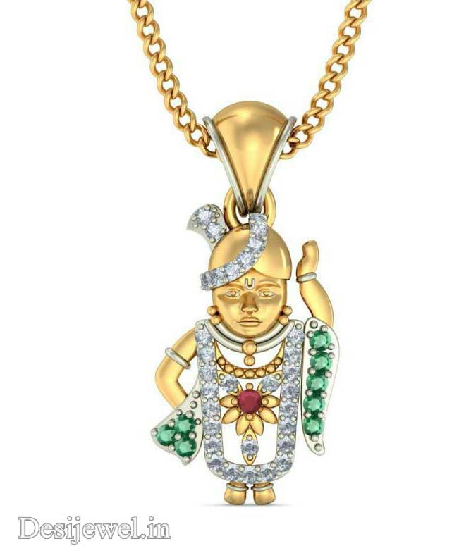 Marwadi Rajasthani Desi gold Gala-Pendal And Weight is 3-5 gm