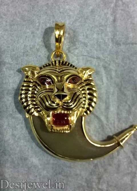 Marwadi Rajasthani Desi gold Gala-Pendal And Weight is 5 gm