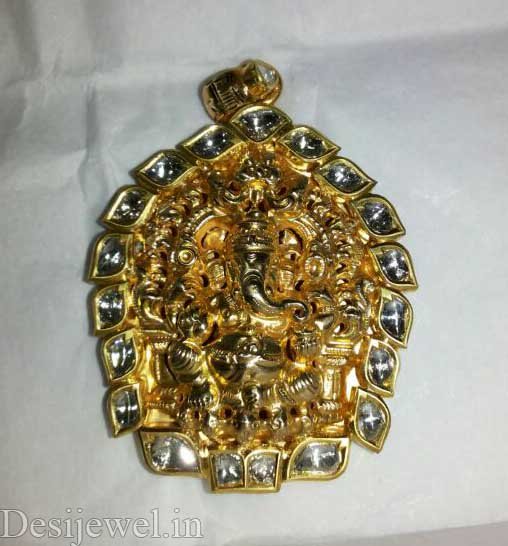 Marwadi Rajasthani Desi gold Gala-Pendal And Weight is 6-7 gm