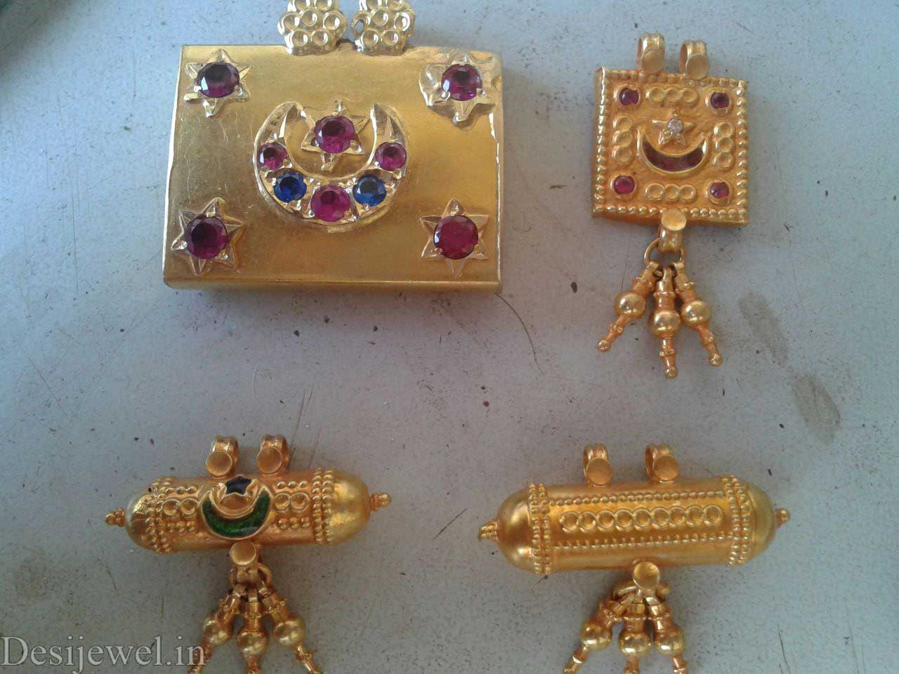 Marwadi Rajasthani Desi gold Gala-Pendal And Weight is 4-7 gm