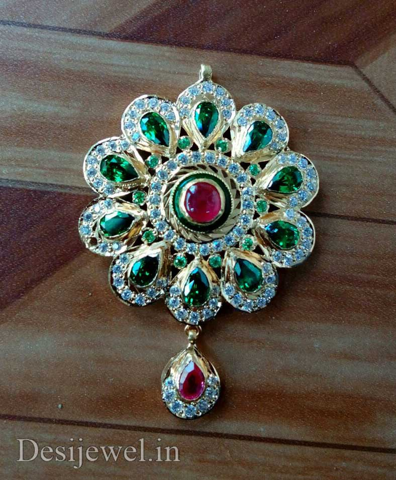 Marwadi Rajasthani Desi gold Gala-Pendal And Weight is 7-8 gm