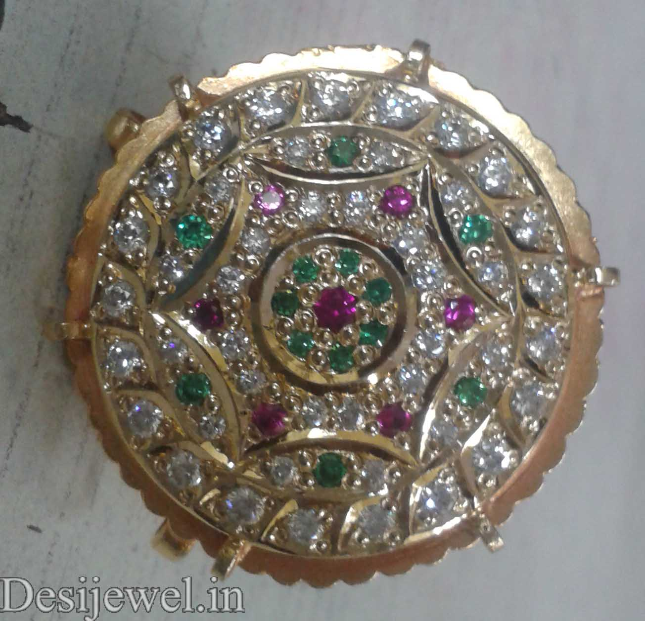 Marwadi Rajasthani Desi gold Rakhdi And Weight is 5 gm