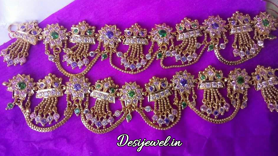 Marwadi Rajasthani Desi gold Rakhdi-Set And Weight is 30 gm