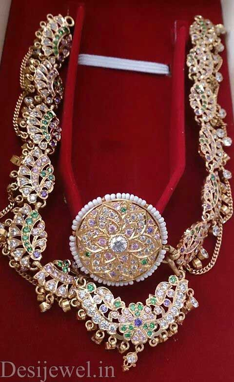 Marwadi Rajasthani Desi gold Rakhdi-Set And Weight is 30-35 gm