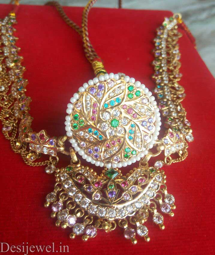 Marwadi Rajasthani Desi gold Rakhdi-Set And Weight is 25-35 gm