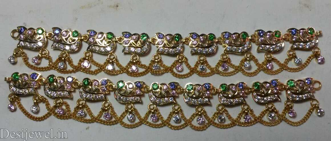 Marwadi Rajasthani Desi gold Rakhdi-Set And Weight is 21-22 gm