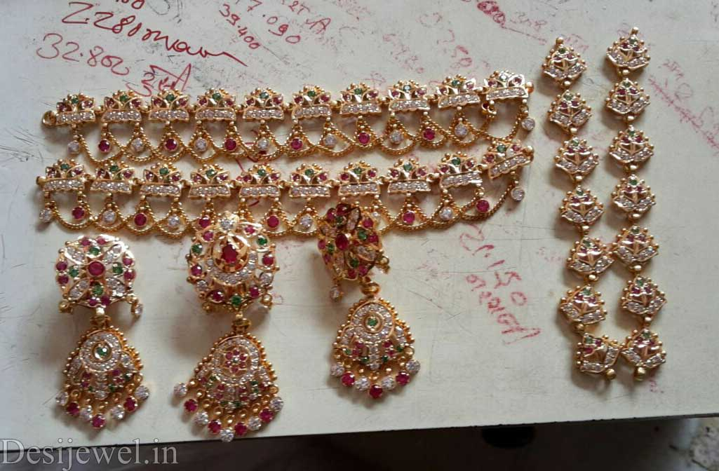 Marwadi Rajasthani Desi gold Rakhdi-Set And Weight is 20-22 gm