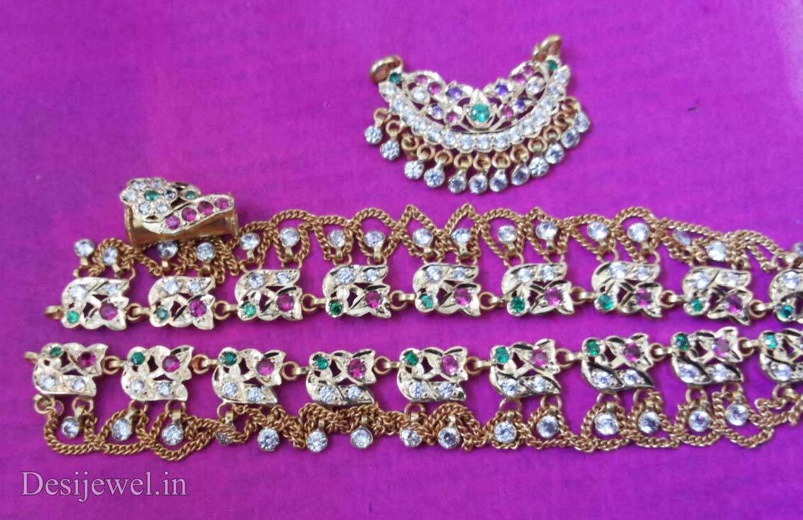 Marwadi Rajasthani Desi gold Rakhdi-Set And Weight is 20-25 gm